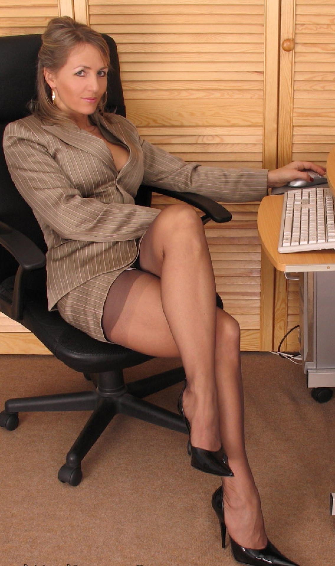 Fucking mature women in pantyhose