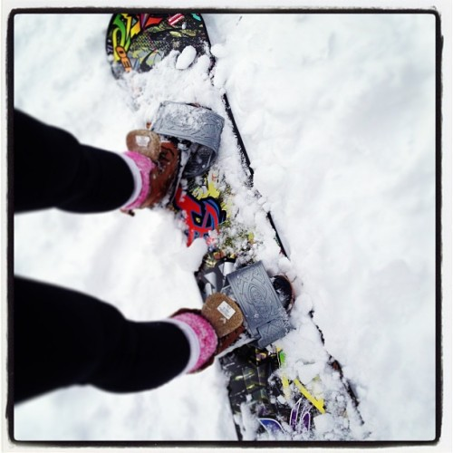 Embrace the elements. #snow #sweat / on Instagram http://instagr.am/p/VhECt5rnGD/