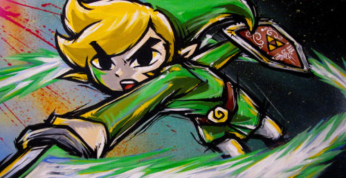 it8bit:  Wind Waker Link Created by Lopan4000