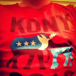 Not sure if #MakeKonyFamous was successful or not, but #Kony is famous now. Still doing my part. #invisiblechildren #kony2012
