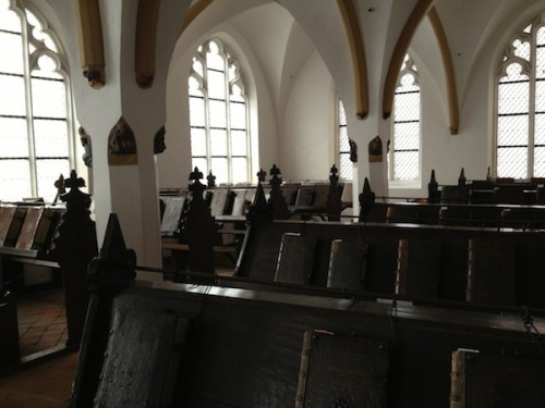 A look at the chained library of Zutphen, one of three such libraries still in existence in Europe.