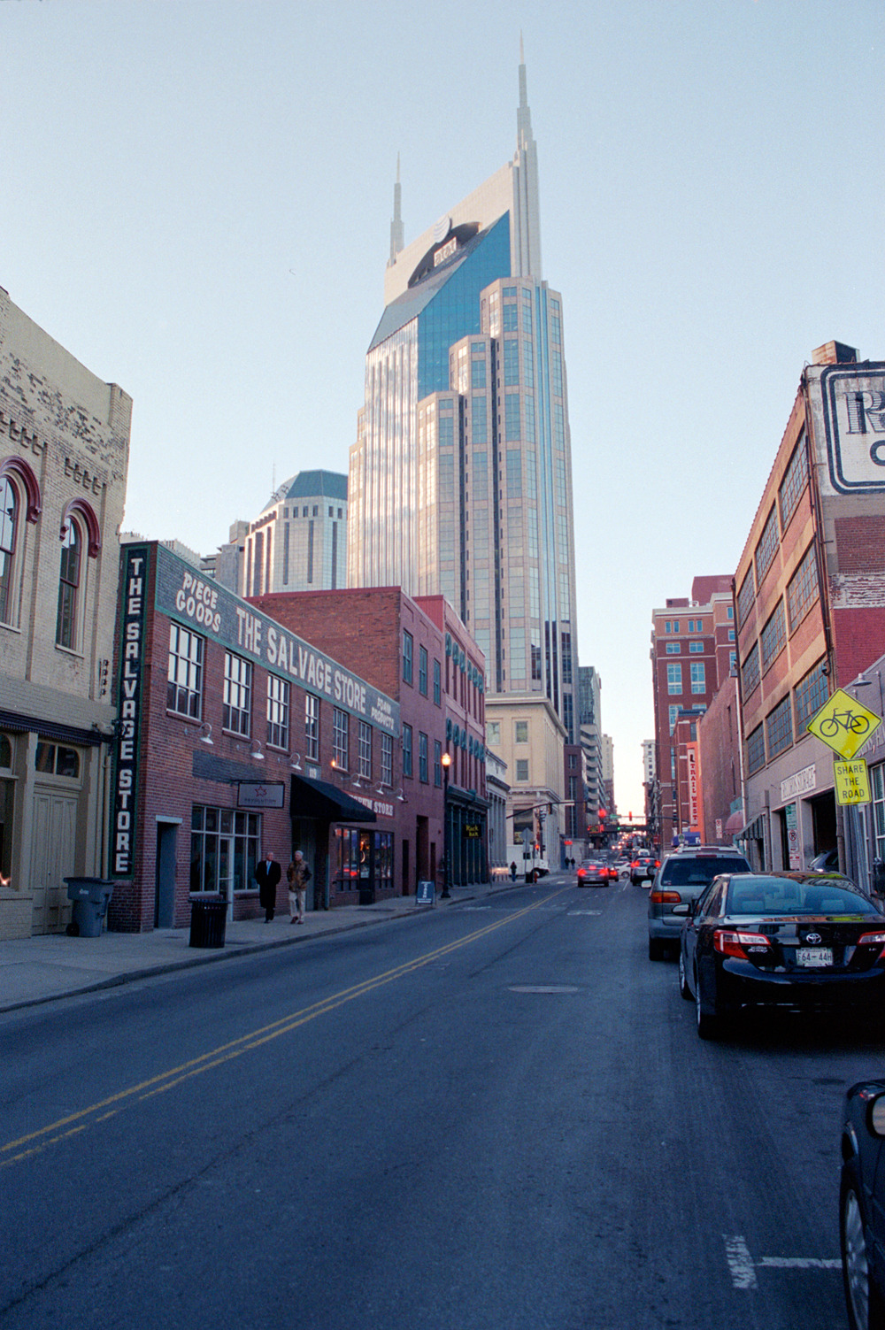 thisriver:  Downtown Nashville, Tennessee. 2013