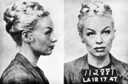 m-a-d-a-m-e-thenardier:  Lili St. Cyr, burlesque dancer. Arrested in Los Angeles in 1947 for lewd behavior while dancing at the Follies Theater