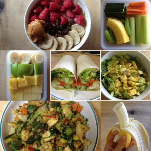 cleanbodyfreshstart:    Today's intake  Considering dessert though.  I hope you've all eaten well today! xxx