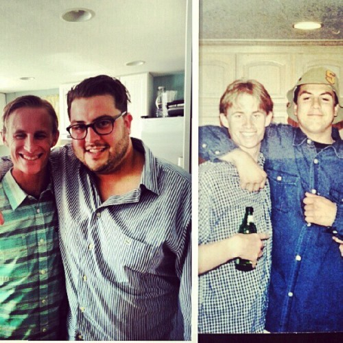 Some things never change. #bestfriends for life! @taddsamuelson