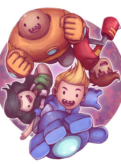 Bravest Warriors. Check that shit out on Youtube.