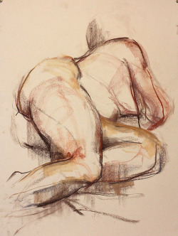 Life Drawing by JB
