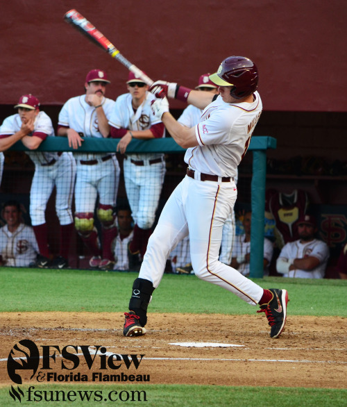 There was no shortage of hits from the 'Nole batters in today's game. The No. 5 Seminoles defeated the No. 25 FGCU Eagles 12-9 on April 2, 2013.