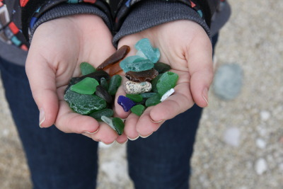 sea glass is one of my favorite things in the whole world