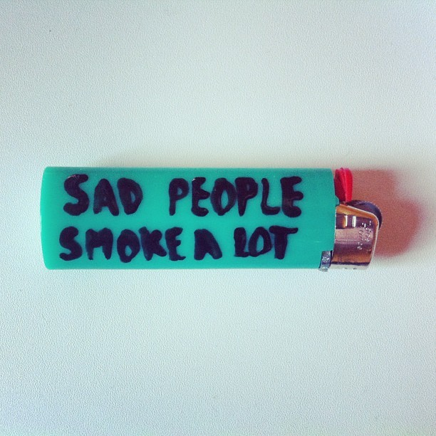 feelinglikeafloatingfeather:  #sad #people #smoke #a #lot #weed #cigarette #fire #DIY  FOLLOW ME