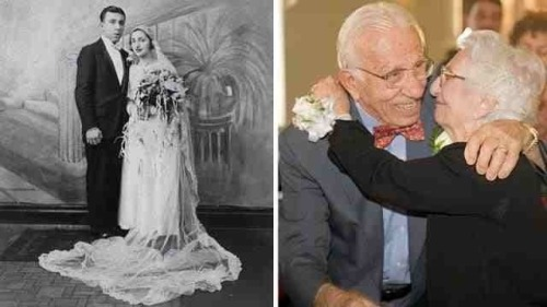 He's 101, she 97 and they've been married for 80 years.
