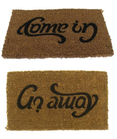 "Versatile ""Welcome"" Mat"