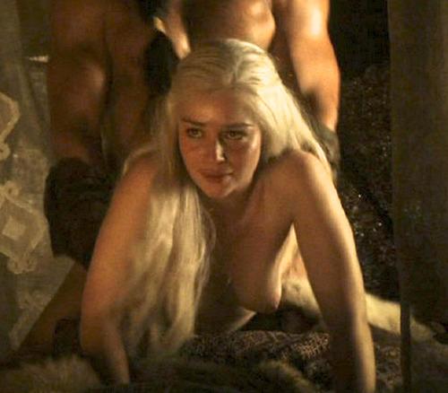 top 40 uk khaleesi sex scene