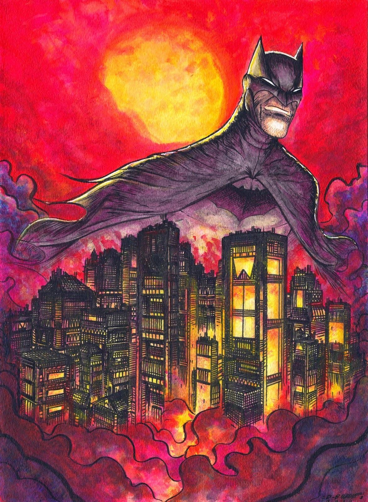 Gotham's Protector by Dylan Burnett