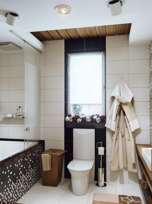 homedesigning:  (via Small Bathroom Design)