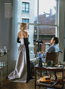 "(via Vogue goes Hitchcock) VOGUE US PRODUCTIONS PRESENTS: ""Window Dressing"" STARRING CAROLYN MURPHY AND TOBEY MAGUIRE DIRECTED BY PETER LINDBERGH PRODUCED BY GRACE CODDINGTON IN A NEWSSTAND NEAR YOU FROM APRIL 2013"