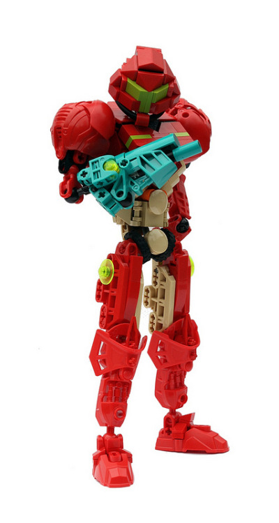 ginzuna:  Super Punch: Lego Armored Samus, Big Daddy from Bioshock…and Pin-Up Girls?