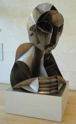 """Constructed Head No.2"", 1975  By: NAUM GABO…."