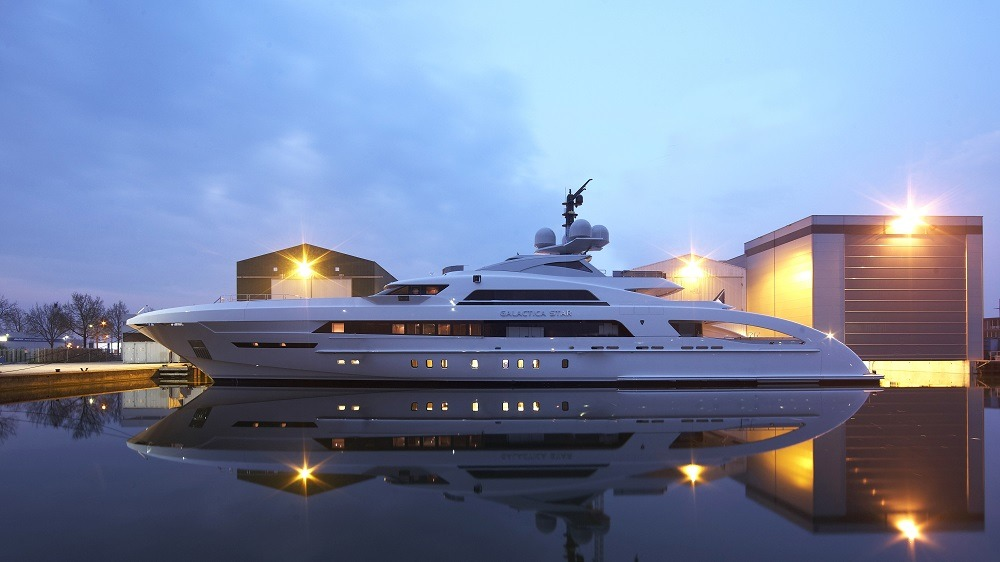"Heesen 65M ""Galactica Star"" launched…"
