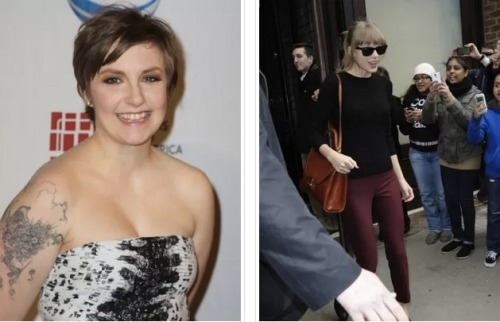 Turns out Lena Dunham is a big fan of Taylor Swift! But, then again, who isn't really? Lena apparently attended Swift's concert the other night and took to Twitter to gush about it. Click the pic to read the tweets!