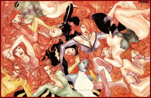 Redhead appreciation by Dustin Nguyen