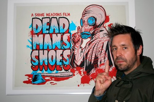 Seeing Paddy Considine (actor in Dead Man's Shoes, Le Donk and Scor-zay-zee, The Bourne Ultimatum, Submarine etc. and director of Tyrannosaur) in the flesh tomorrow. His band's playing a gig in Stockport  so we're going down to stalk see him. Wahey.