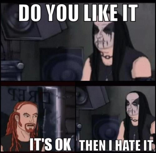 fuck-you-all-you-ugly-cunts:  every black metal fan ever