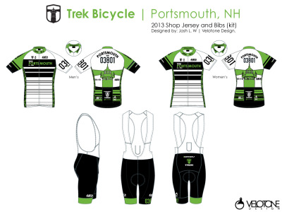 2013 Trek Portsmouth Shop Kit Designed by Velotone.