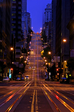 wonderous-world:  Streets of San Francisco by  southerncal88