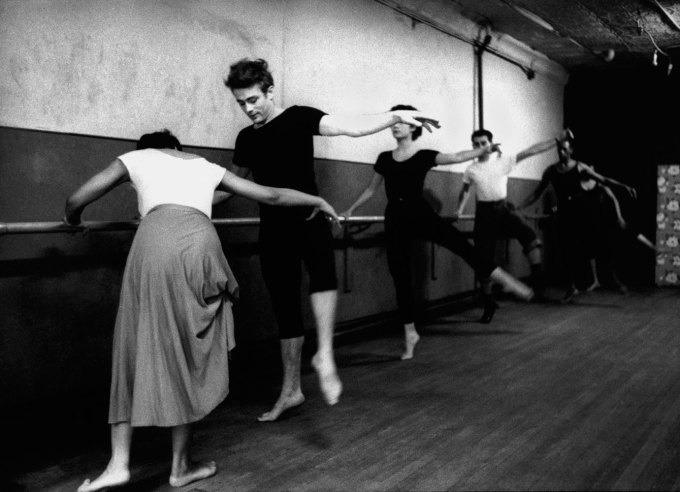 grayskymorning:  James Dean attending dance classes given by Katherine Dunham, New York City, 1955 | LIFE.com