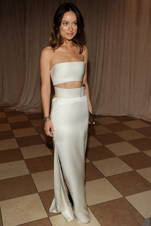 Olivia Wilde in Calvin Klein at The Met Ball 2013