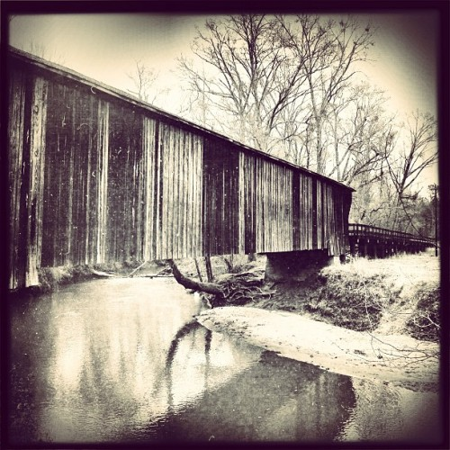 #redoakcreekcoveredbridge #meriwhethercounty #georgia #lawlessmovie #lawless #historic #horaceking #engineering