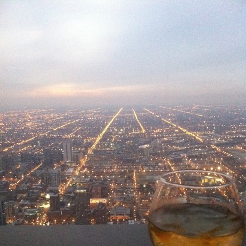Blue label on the 96th floor. #tys #nye