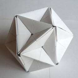 nicoonmars:  Great Dodecahedron by Jun Mitani