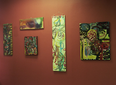 some paintings on display at The Itkowitz PLLC: Empty Walls Itinerant Art Initiative, 305 Broadway, 7th Floor, New York, New York 10007, http://itkowitzewiai.breezi.com/ On view until April 2013