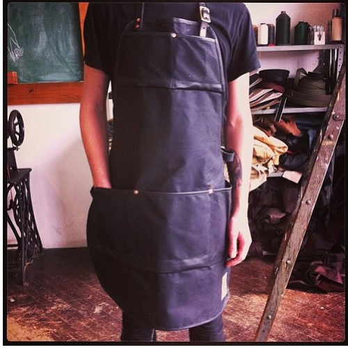 @mercysupply just killed it with these crazy black aprons! Go follow, go buy, support. #mercysupply