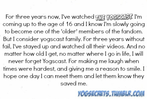 The 'older' members at 16 of age?! I must be a real senior then. (Almost 21,5 years atm.)