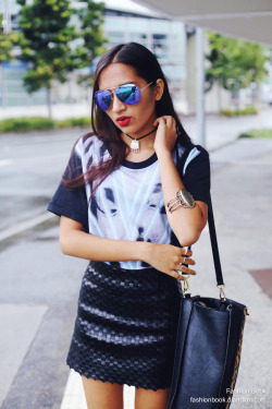 beautifulfashiongirl:  skirt FRIEND OF MINE, top KSUBI, sunglasses SPO…  Skirt