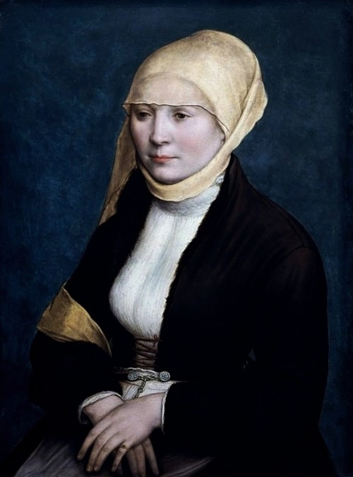 artgif:  Portrait of a Woman, Hans Holbein the Younger