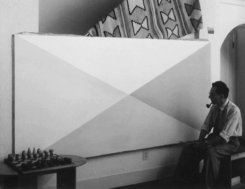 magictransistor:  Man Ray. Self Portrait at Duchamp's Studio. 1919.