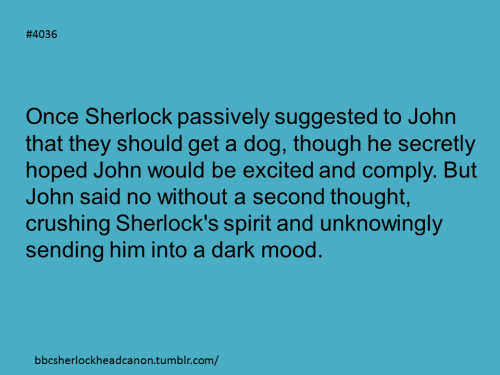 bbcsherlockheadcanon:  Submission by Anonymous.