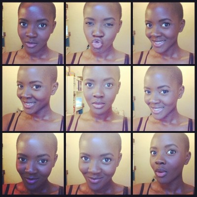 littlegrafix:  philomenakwao:  Giving face just because  Malaika Malaika, Nakupenda Malaika