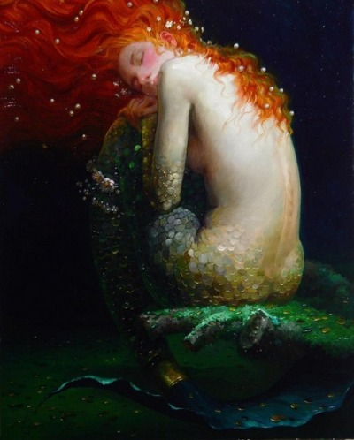 madhatterer:   part of Siren Song series by Victor Nizovtsev