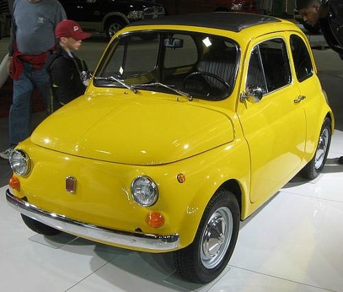 """"""" Classic 1970 Fiat 500 """""""
