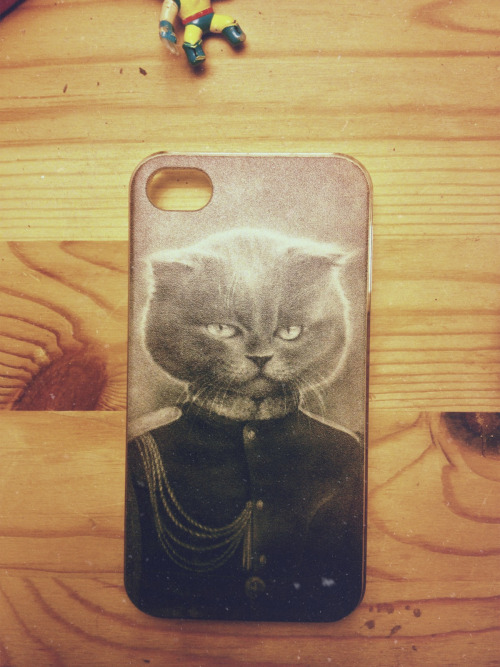 My new iPhone cover.. quite dappurrrr, don't ya think?