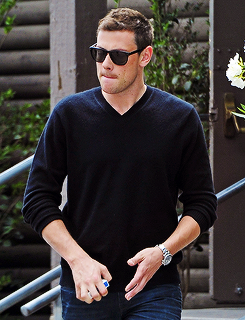 Cory Monteith leaving the West Hollywood Lions Club in LA (May 16)