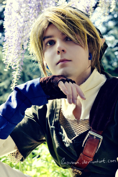 LoZ Twilight Princess - Link Cosplay by ~Laovaan