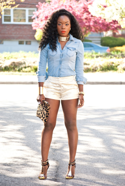 blackfashion:  Name: Kelly www.islandchic77.com