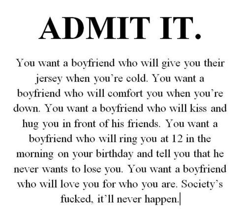 g-puppy:  D'X I want a boyfriend so bad  This is very true!!!