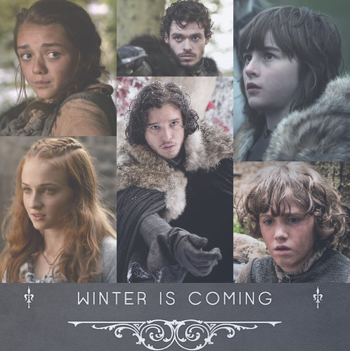 custardandfish:  little lone direwolf—a mix for house stark—listen here  i. Winterfell - Ramin Djawadi // ii. Finding north - The Civil Wars (for Jon) // iii. Dirty paws - Of Monsters and Men (for Robb) // iv. Ghosts that we knew - Mumford and Sons (for Sansa) // v. White winter hymnal - Fleet Foxes // vi. The wolves, act i and ii - Bon Iver (for Bran) // vii. Devil's spoke - Laura Marling (for Arya) // viii. Safe and sound - Taylor Swift and the Civil Wars (for Rickon) // ix. Timshel - Mumford and Sons (for Arya) // x. Falling - The Civil Wars (for Sansa) // xi. To build a home - The Cinematic Orchestra